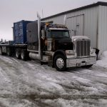 MD Transport B-Train Trailer Freight Transportation Ontario Canada