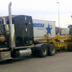 MD Transport Removable Goose Neck (RGN) Trailer RT Crane Transportation Ontario Canada