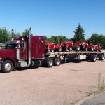 MD Transport Flatbed Farm Tractors Transportation Ontario Canada