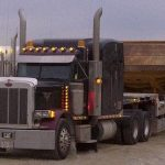 MD Transport RGN Overdimensional 777 Rock Truck Transportation Ontario Canada