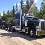 MD Transport Extendable float Oversize Forwarder 85 000 lbs Transportation Ontario Canada